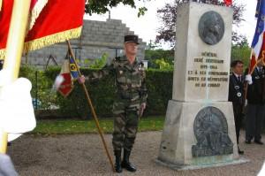 stèle du Général BERTRAND