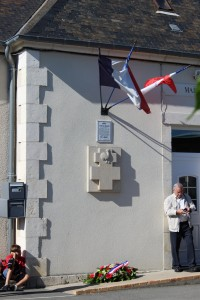 Arçay, lieu de la reddition de la colonne Elster