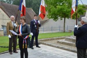 monument aux Morts d'Orval, Bastien porte-drapeau
