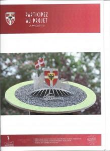 projet du monument à Sarrebourg