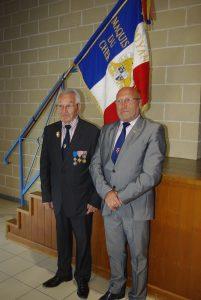 Paul Pintenat avec le nouveau Président Didier RENAUD