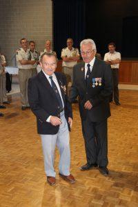 M.Marcel TETENOIRE avec le Président Paul PINTENAT