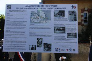 panneau explicatif du Mémorial