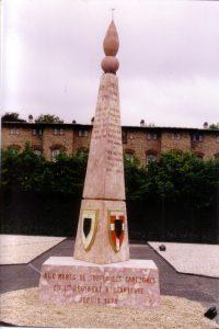 inauguration au quartier Rabier de Sarrebourg en Juin 2001
